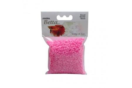 Substrat Aquarium gravel epoxy Marina - Pink
