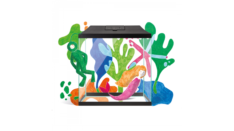 AquaEL AQUARIUM SET LEDDY MINI 30