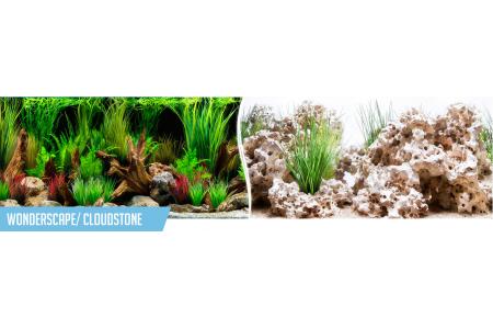 Fundal PVC pentru acvariu WonderScape / CloudStone