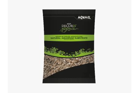 Substrat natural multicolorat sub forma de pietris AquaEL Natural Multi-Colored Gravel1.4-2mm 2kg / 10kg