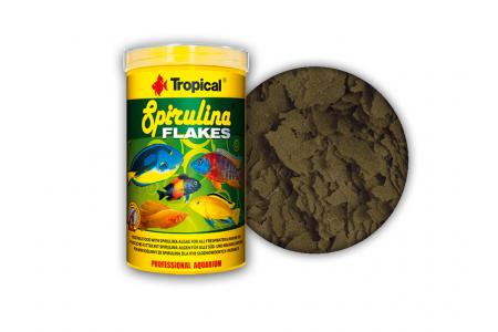 Hrana vegetala sub forma de fulgi Tropical Spirulina Flakes